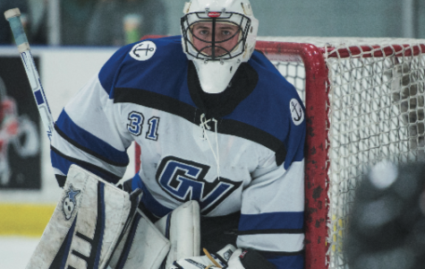 Strong goalie play helps GVSU overcome early mistakes in win over Adrian