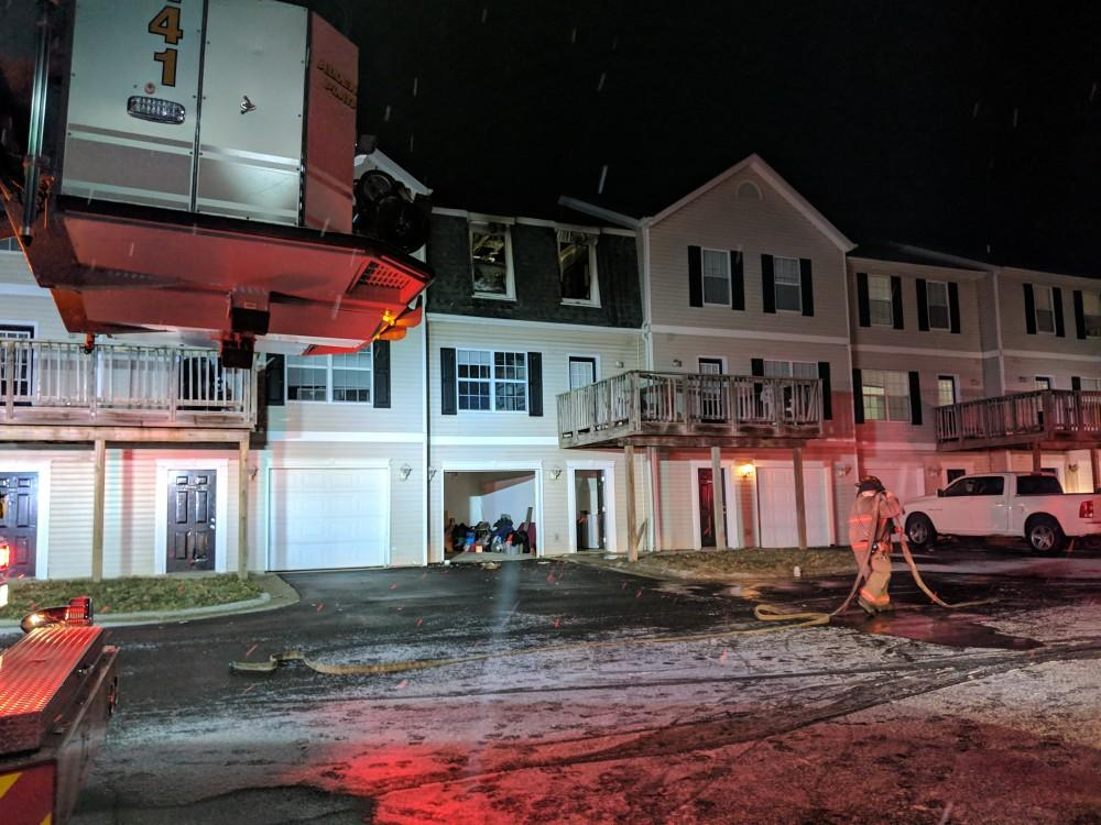 Fire at Copper Beech Townhomes deemed accidental, no serious injuries reported