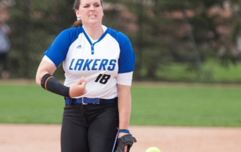 Lipovsky throws no hitter; GVSU softball sweeps weekend doubleheader