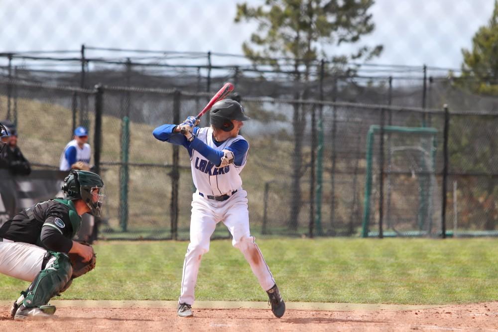 GVL/Katherine Vasile, 4/12/19, GVSU Baseball Field, GVSU Baseball vs Parkside