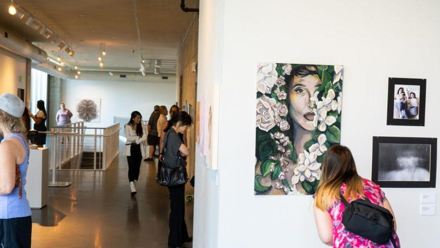 GV students featured at MEGA art exhibit