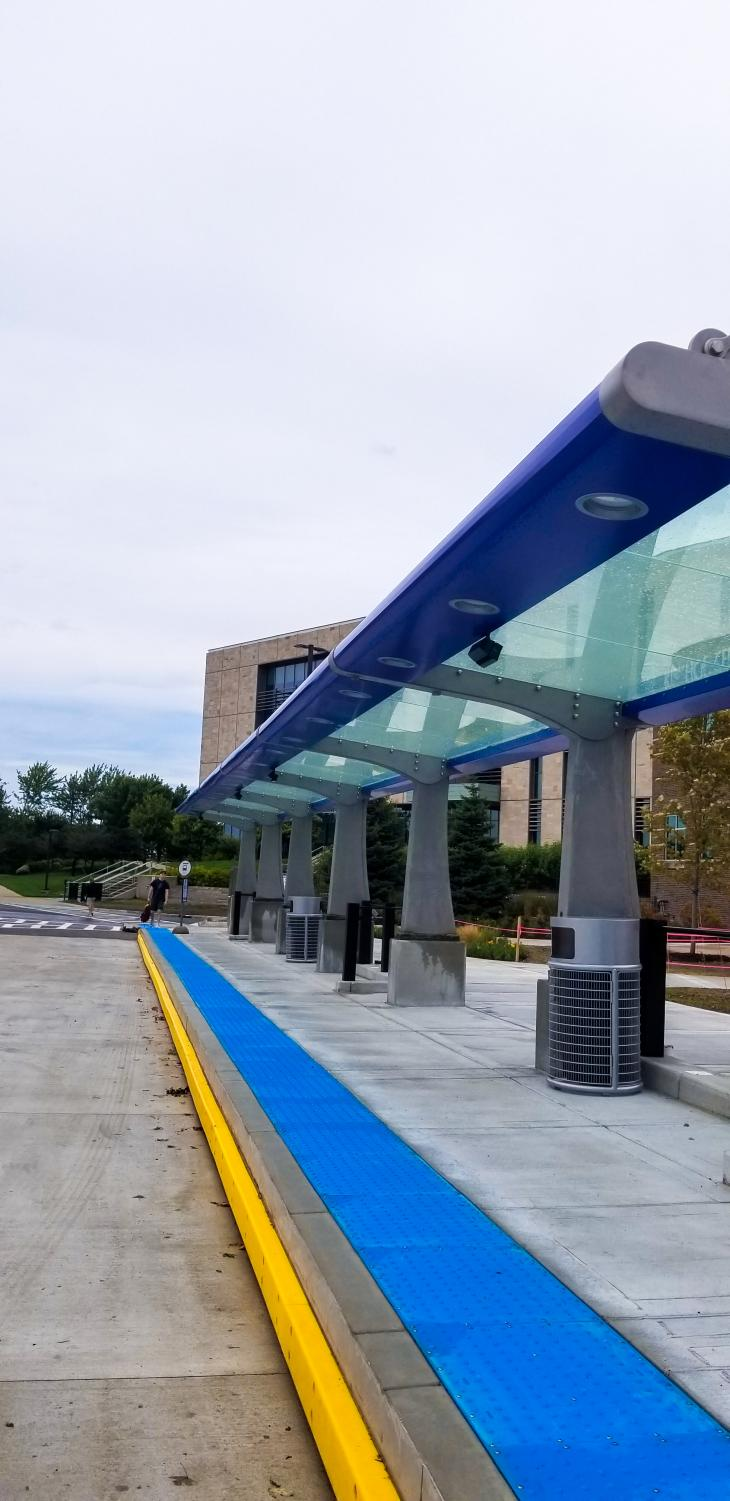 Updated parking passes ensure that students have options. GVL | BENJAMIN HUNT