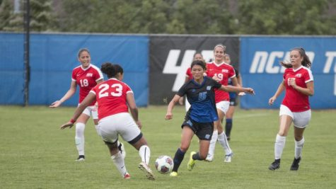 No. 1 GVSU Soccer dominant in 2-0 win over No. 18 Bemidji State