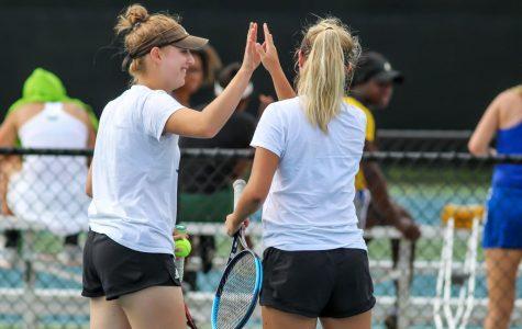 GVSU Women's Tennis take on ITA Regional Championships