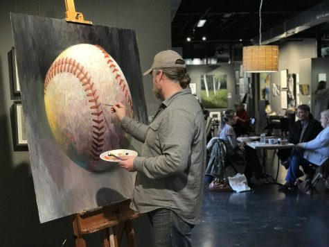 Artist demos showcase local talent, artistic process