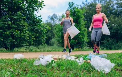 New Plogging Club encourages sustainability, fitness