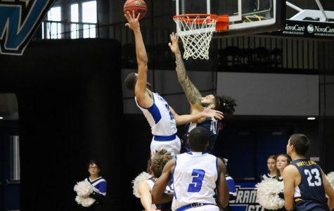 GVSU men's basketball wins season opener by double digits