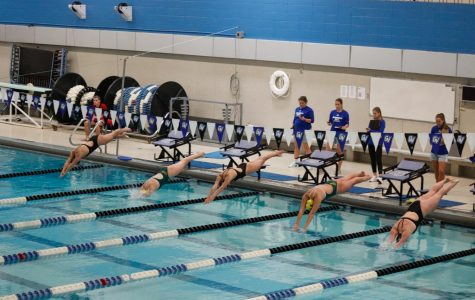 GVSU Swimming & Diving edges Ball State