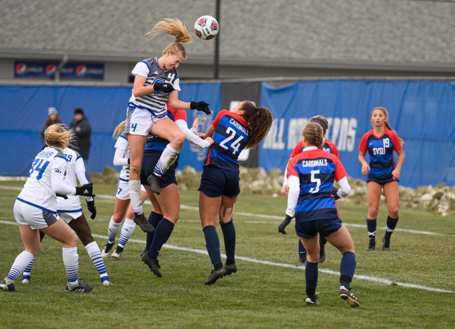 Baker's Dozen: GVSU Soccer captures 13th consecutive GLIAC Tournament title - Grand Valley Lanthorn