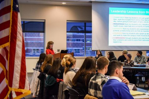GV Student Senate members join student voter engagement task force