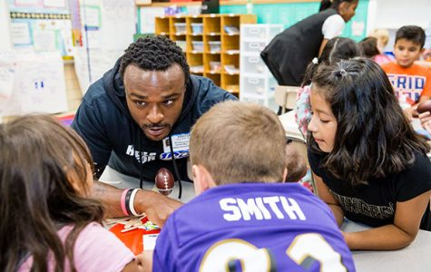 Laker for a Lifetime: GVSU Football legend Brandon Carr talks Walter Payton Man of the Year nomination, Lit Buddies Boxes, lessons learned from Allendale