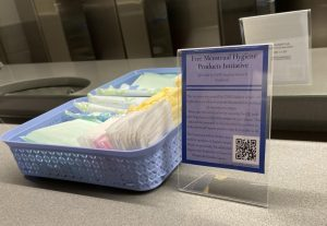 New menstruation initiative provides free products around campus