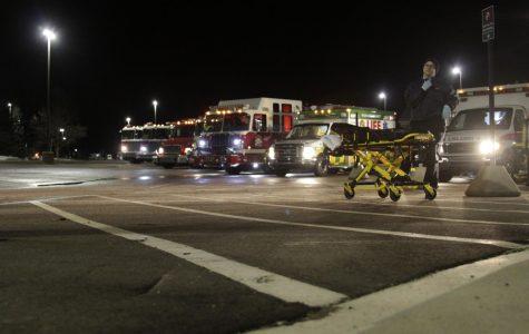 First responders practice teamwork during winter break
