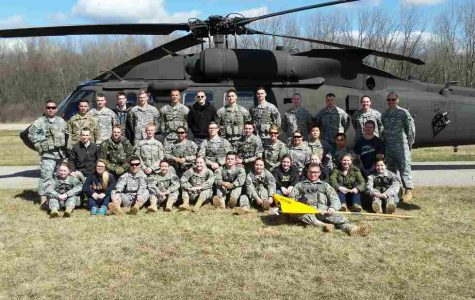 GV students help spread the word about ROTC