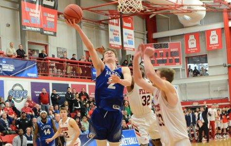 GVSU Basketball improves to 13-2, Van Tubbergen scores 1,000th point as Laker