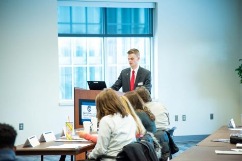 Student Senate hosts first annual State of the Student Body address