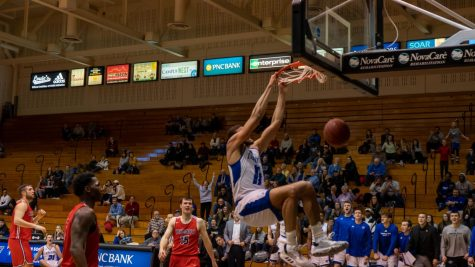 GVSU Basketball wins Battle of the Valleys, falls in nail biter to Northwood