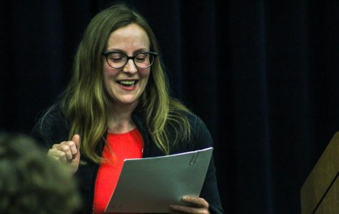 Professors show their true colors at GV Writers Series