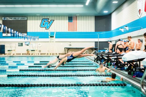 GVSU Swimming & Diving remains dominant in GLIAC championships