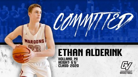 Holland Christian's Ethan Alderink stays local, prepares for freshman season with GVSU basketball