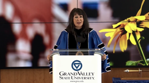 Mantella addresses GV community in virtual State of the University Address