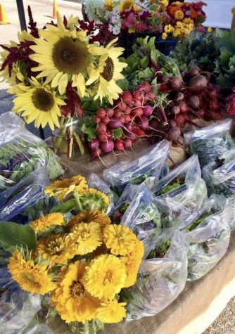 Produce from the Community Supported Agriculture efforts of Grand Valley