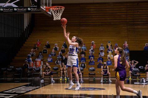GV basketball seniors reflect on no crowds at games
