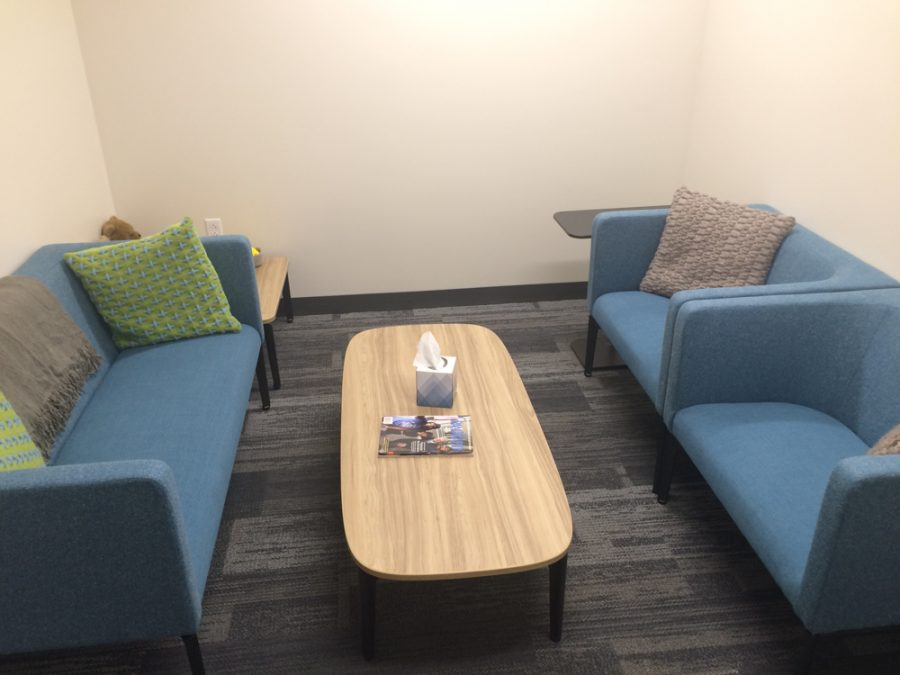 The GVPD's comfort room, designed to be less intimidating than other parts of the department.  Courtesy / GVPD