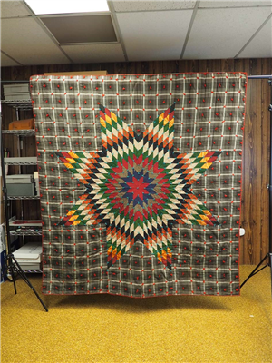 A late 19th century quilt from the Lakeshore Museum Center's collection. (Courtesy LMC)