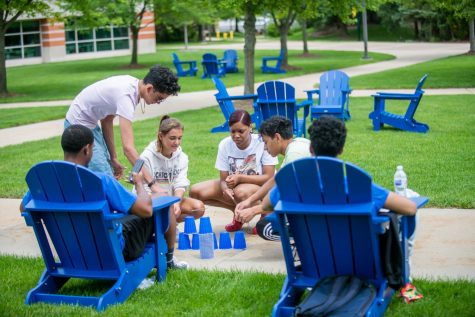 Every Tuesday and Thursday, OWS students do team-building activities on campus; every Saturday, they go to Grand Rapids for co-curricular workshops at Craig