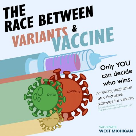 One of Fustero-Lopez's designs, incorporating themes learned from their research into an easily-shareable inforgraphic. (Courtesy Vaccinate West Michigan)